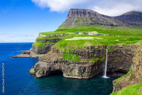 Wodospad Mulafossur, Gasadalur Faroe