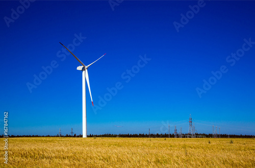 Wind turbine, power generation