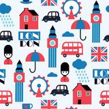 london geometric childish pattern - 167854977