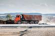 Dump truck for road repair