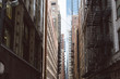 Alley in downtown Chicago - 167885583