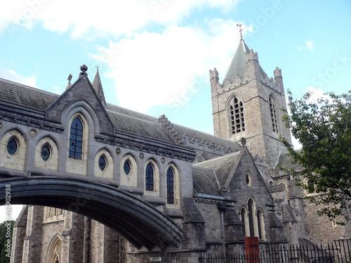 Kathedrale von Dublin Poster
