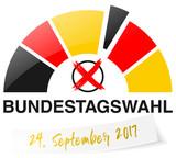 Bundestagswahl 2017 Logo - 167948524