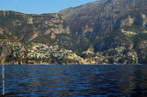 Steilküste bei amalfi