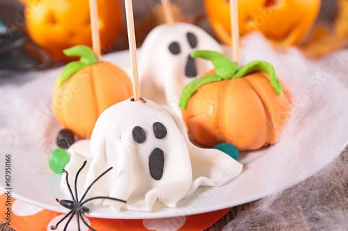 dessert for halloween Poster