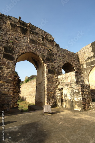 Golconda Fort Poster