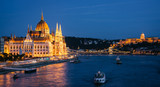 Parliament Building in Budapest, night view - 167961738