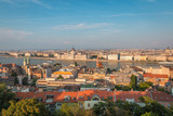 Panoramic view of Budapest Hungary