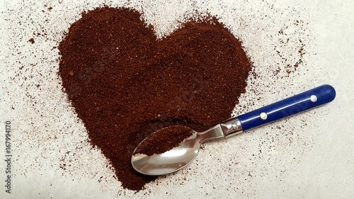 Foto op Plexiglas Chocolade powder