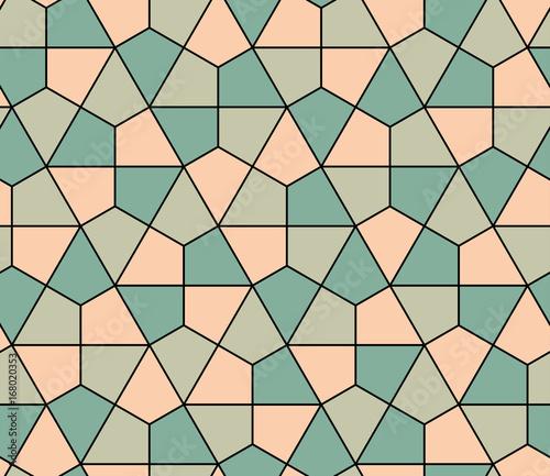 Seamless geometric pattern simple flat vector illustration. Lined geometric color seamless pattern