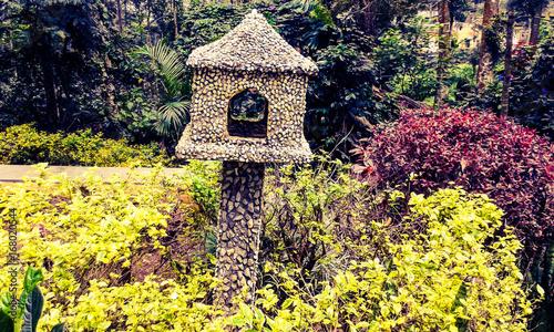 Keuken foto achterwand Geel garden