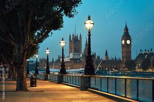 Fotobehang Londen Big Ben and Houses of Parliament