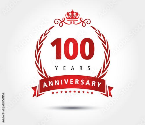 100 years anniversary crown