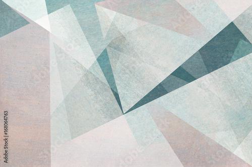 Leinwanddruck Bild graphische abstrakte Formen in hellen Pastelltönen - Hintergrund Design