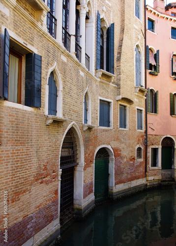 Poster Smal steegje canal de Venise