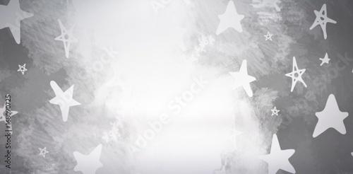 Composite image of illustration of stars