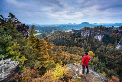 Poster Sächsische Schweiz im Herbst