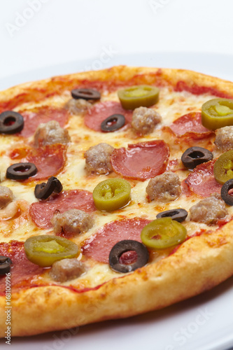tasty pizza - 168100996
