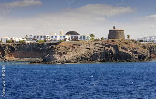 Foto op Plexiglas Canarische Eilanden Castillo del Aguila in Lanzarote