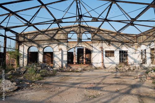 Foto op Plexiglas Oude verlaten gebouwen Lost Place