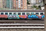 Art Crime - Caltanissetta Central Station, Sicily - 168153347