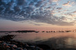 Sunrise on Casco Bay, Portland Maine
