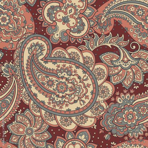 paisley seamless pattern - 168220132