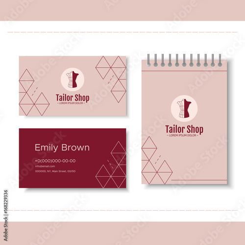 Branding For Tailor Shop Dressmakers Salon Sewing Studio Clothing