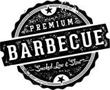 Premium Vintage Barbecue BBQ Stamp