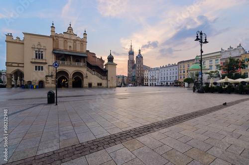 Krakow Rynek Glowny - The main square.
