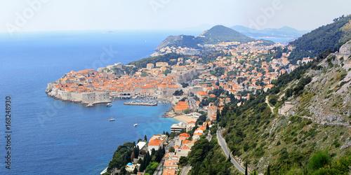 Dubrovnik skyline panorama