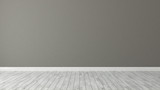 brown wall background with white parquet - 168250571
