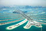 Aerial View Of Palm Island In Dubai
