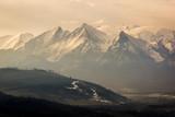 Tatra mountains from Czarna Gora, Zakopane, Poland
