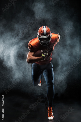 American football sportsman player
