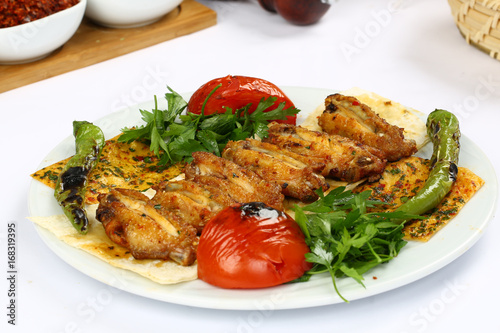 Chicken Wings Grill - 168319395