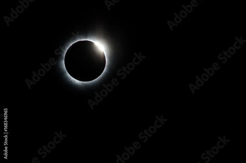 Total Solar Eclipse and Diamond Ring Poster