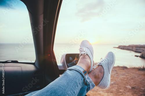 Freedom car travel concept - 168347734