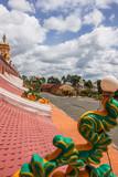 ベトナム、タイニン省:カオダイ教寺院、屋根、観光名所、Cao Dai Temple (Holy See Temple)