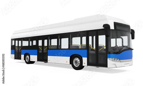 Fototapeta City Bus Isolated