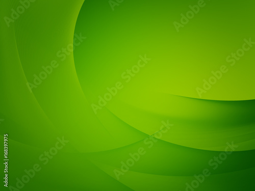 Foto op Aluminium Abstract wave Abstract green background