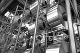 stock of aluminum coils - 168400379