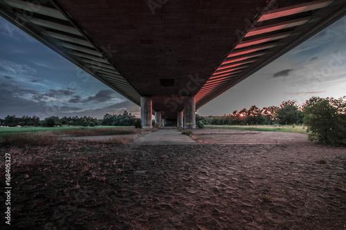 Poster Under the bridge