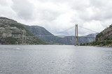 Norway. Bridge the Lysefjord