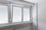 PVC window in room