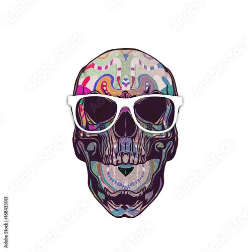 Aluminium Reznik Красочный злой череп