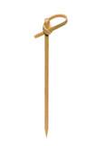 Bamboo toothpick closeup