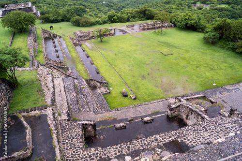 Poster Xochicalco ruins unesco