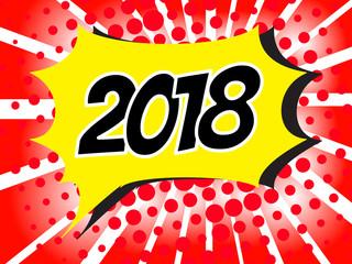 2018 pop art