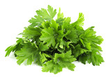 parsley bunch isolated on white background - 168473936